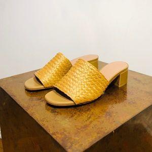 Maryam Nassir Zadeh Natural Woven Sophie Slides